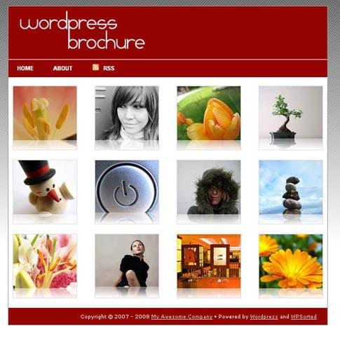 Wordpress Brochure Theme