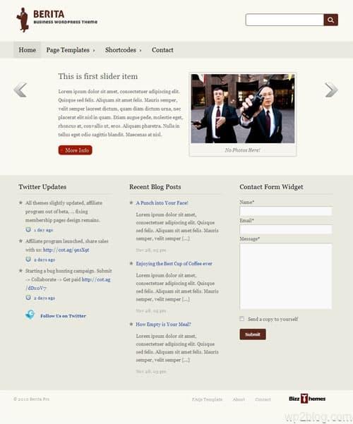 Berita Pro Premium WordPress Theme