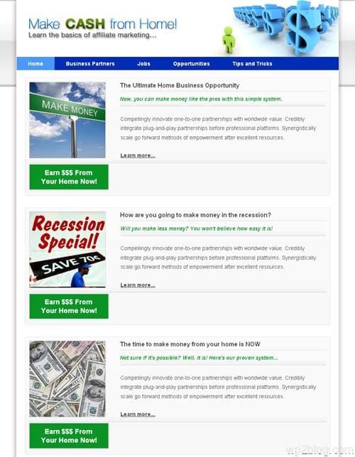 affiliate marketing theme for wordpress