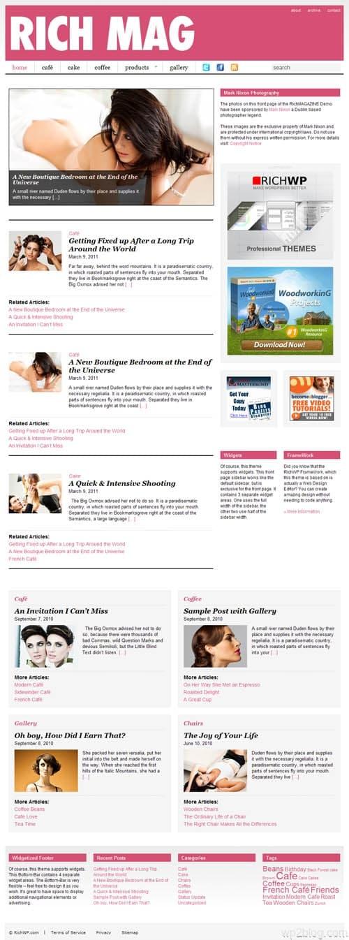 Rich Magazine Premium WordPress Theme