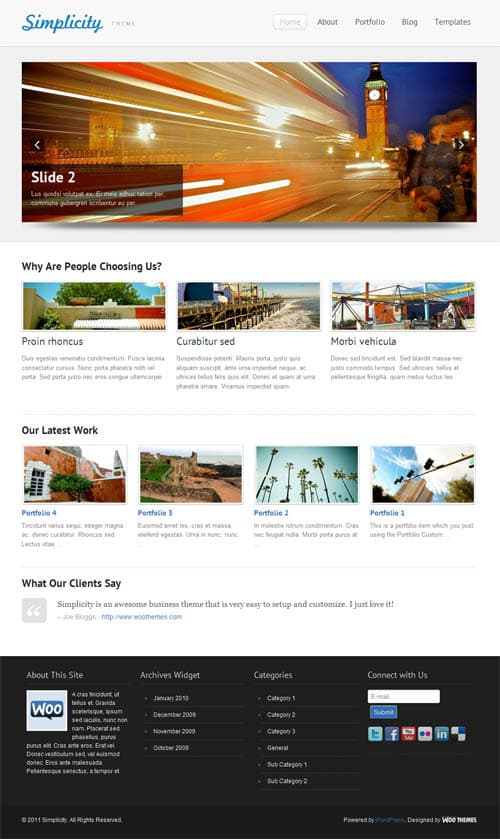 simplicity-wordpress-theme