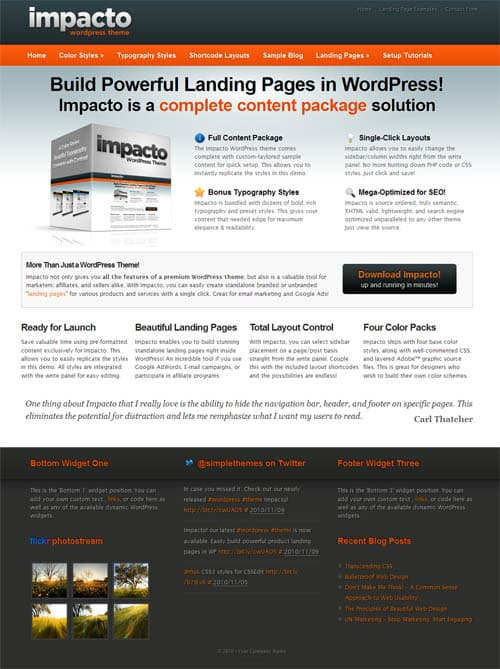 impacto-wordpress-theme