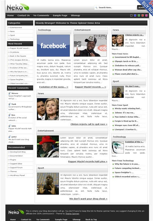 Neko Pro WordPress Theme
