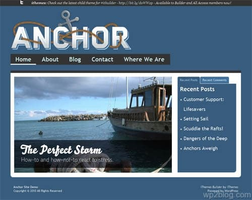 Anchor Premium WordPress Theme
