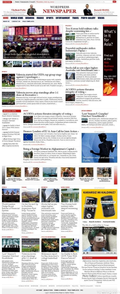 wp advanced newspaper version1.2