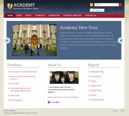 academy-theme