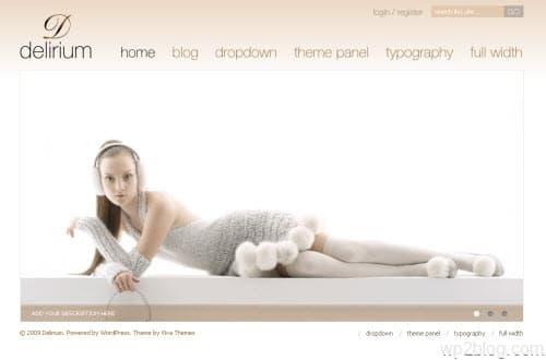 Delirium Premium WordPress Theme