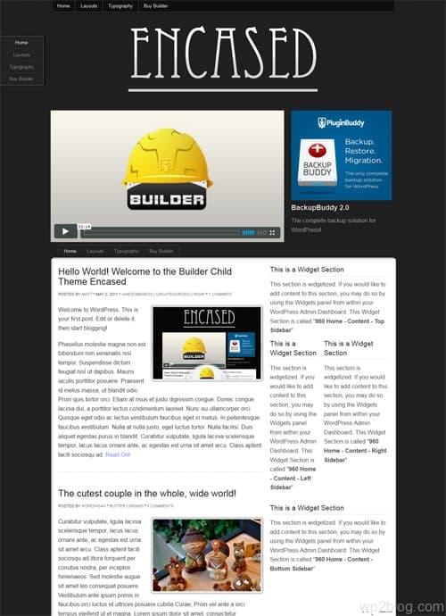 Encased Premium WordPress Theme