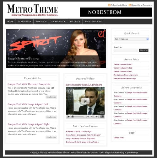 metro-wordpress-theme
