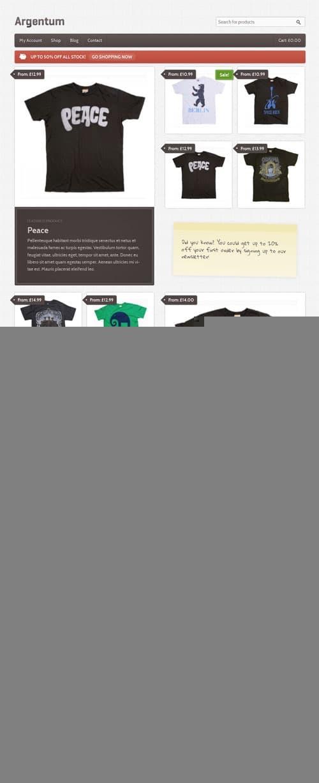 argenum-wordpress-theme