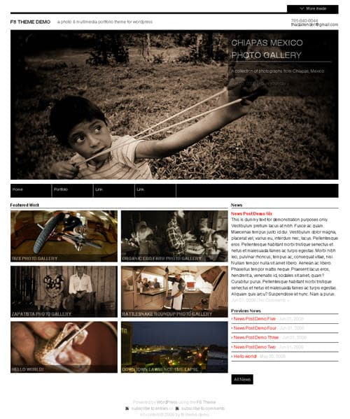 f8 wordpress theme