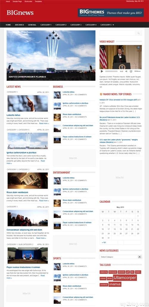 Big News Premium WordPress Theme