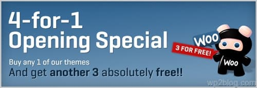 woothemes special theme deal