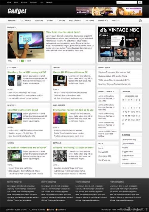 Gadget WordPress Theme