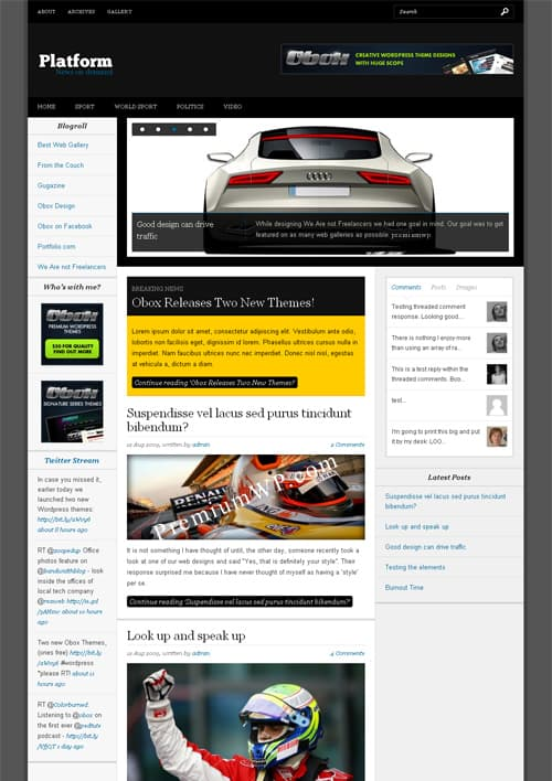 platform-wordpress-theme