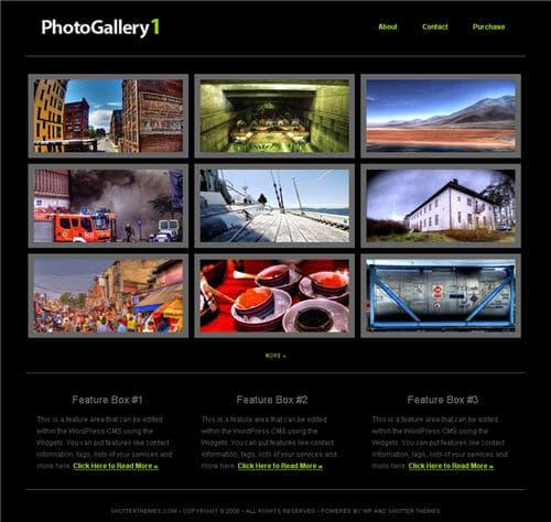 Photo gallery theme 1