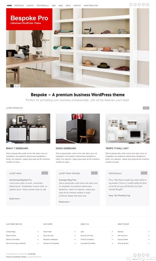 Bespoke Pro Business WordPress Theme