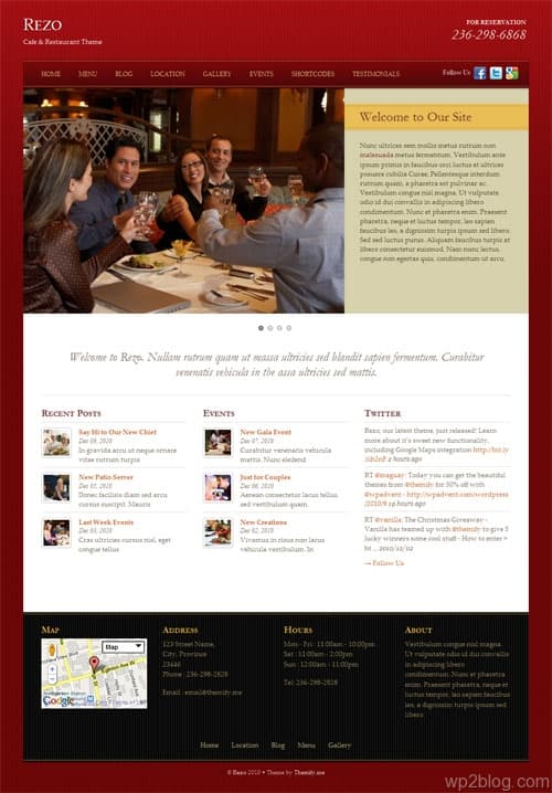 Rezo Business Premium WordPress Theme
