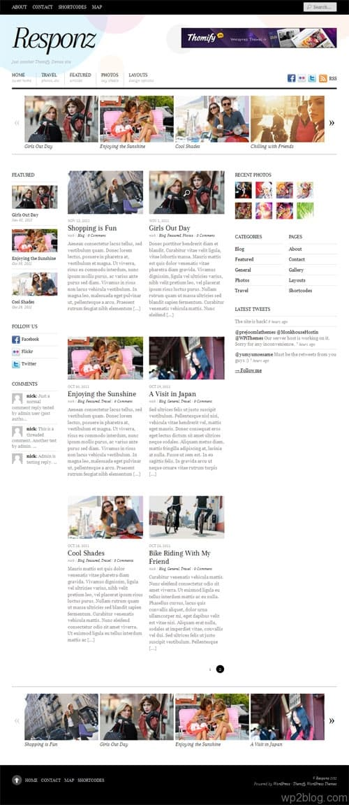 Responz Premium WordPress Theme