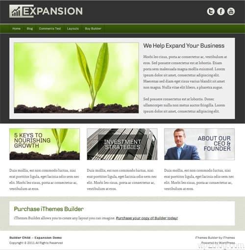 Expansion Premium WordPress Theme