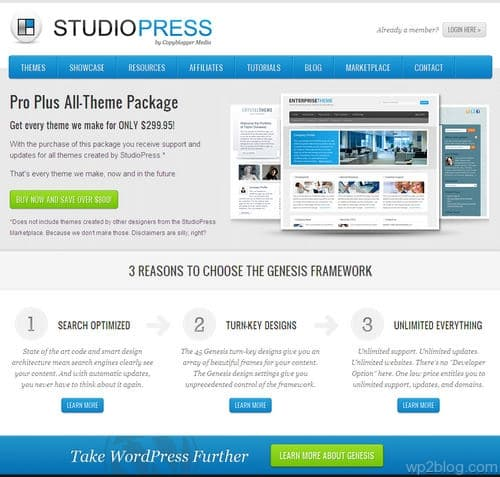 Pro Plus All-Theme Package by StudioPress
