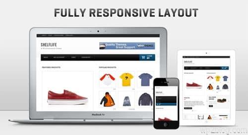 shelflife responsive layout