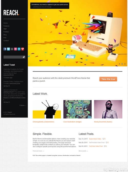 Reach WordPress Theme