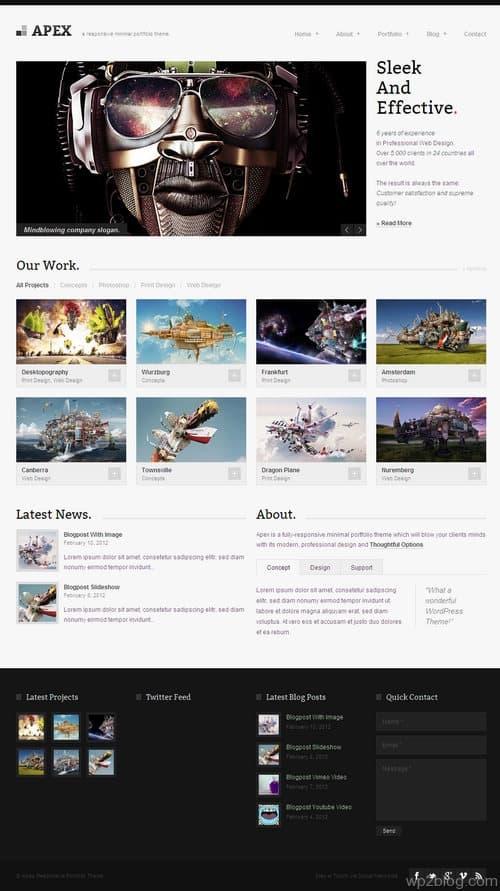 Apex WordPress Theme