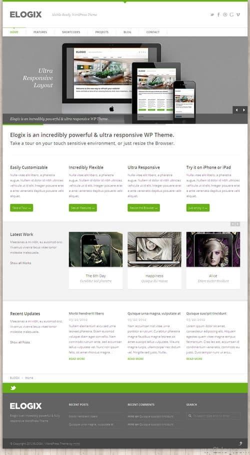 Elogix WordPress Theme