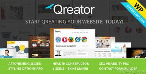 Qreator Multiple Layouts