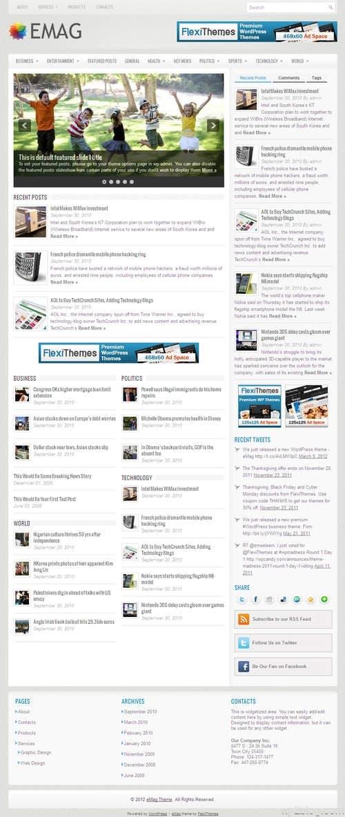 eMag WordPress Theme