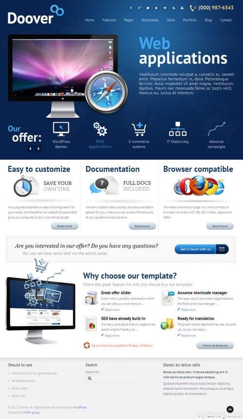 Doover WordPress Theme