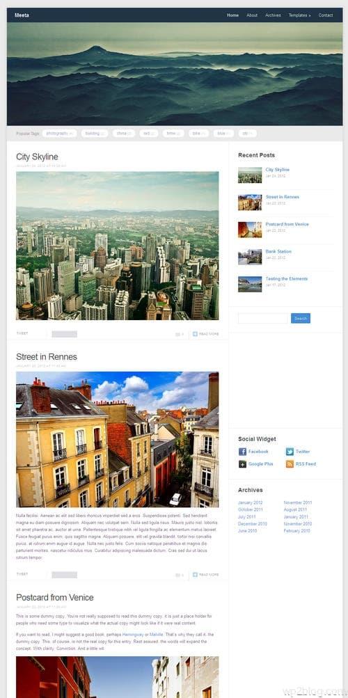 Meeta WordPress Theme