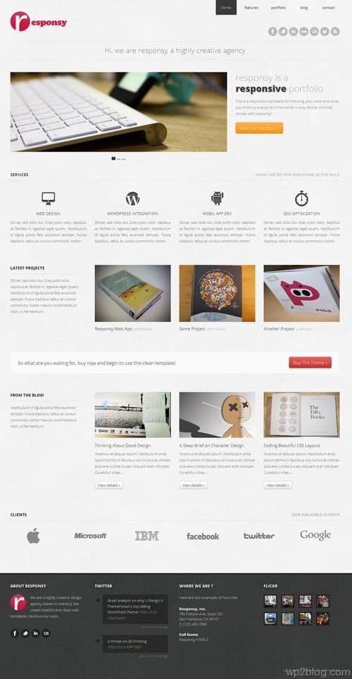 Responsy WordPress Theme