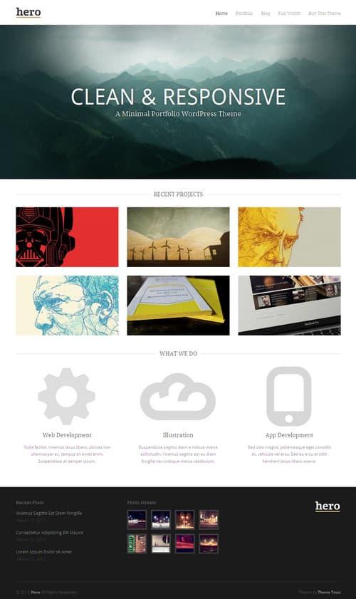 Hero WordPress Theme