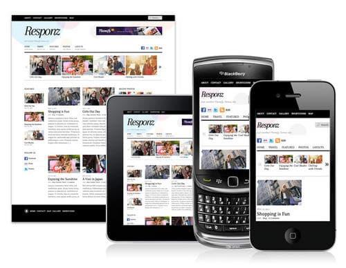 responz responsive layouts