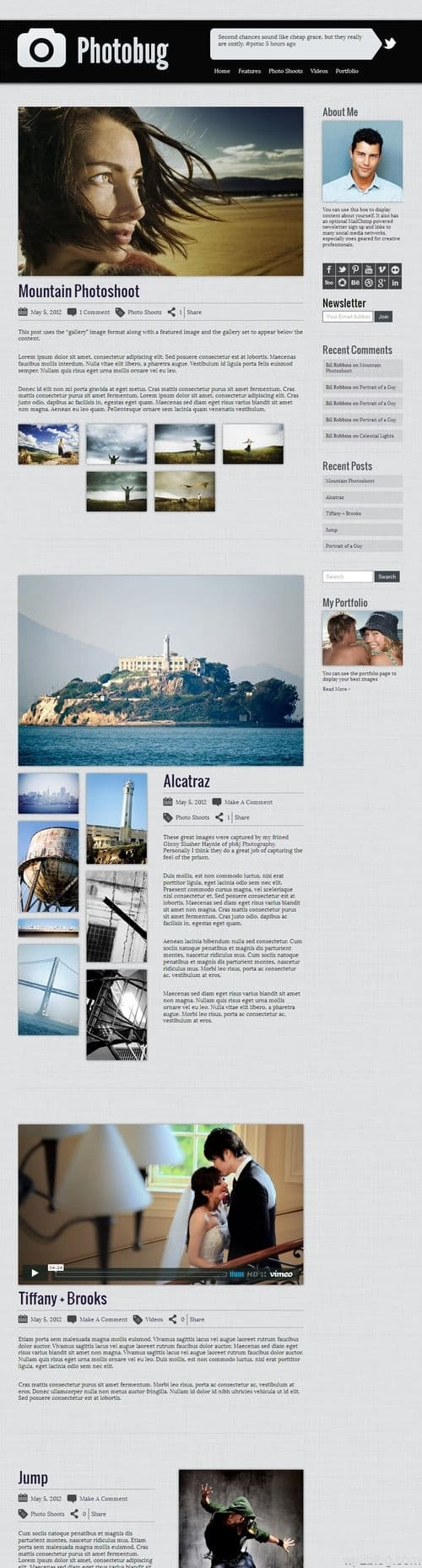 Photobug WordPress Theme