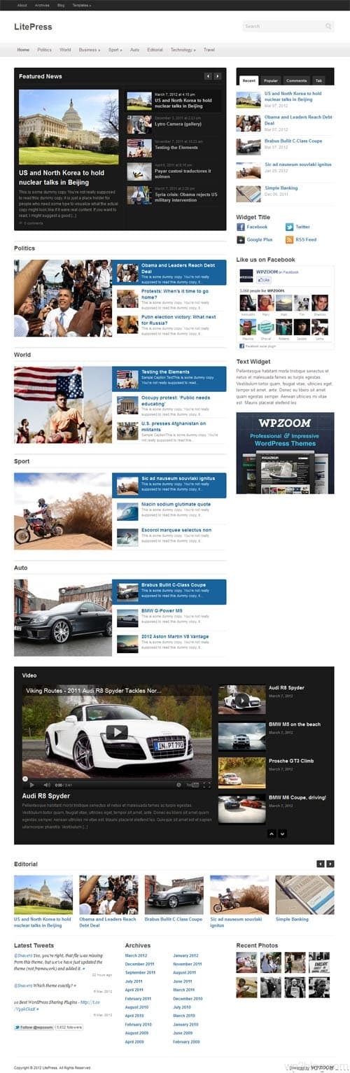 Litepress WordPress Theme
