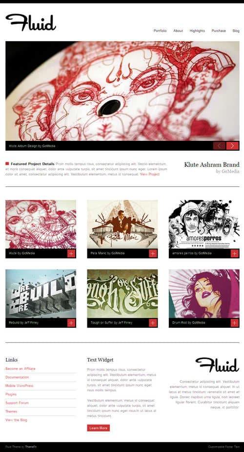 Fluid WordPress Theme