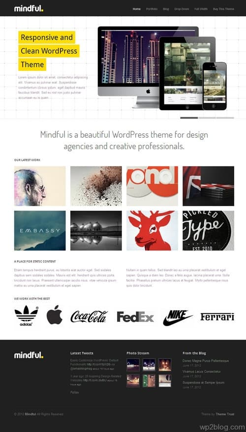 Mindful WordPress Theme