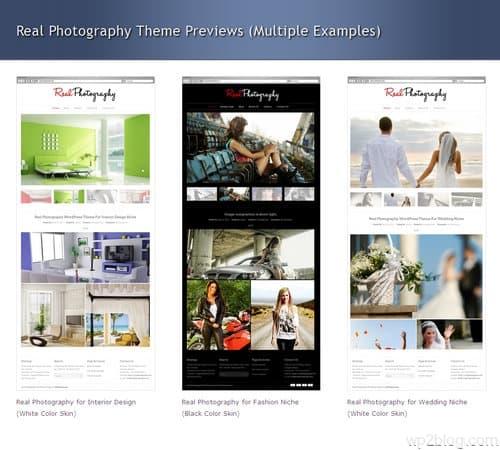 Real Photography WordPress Theme