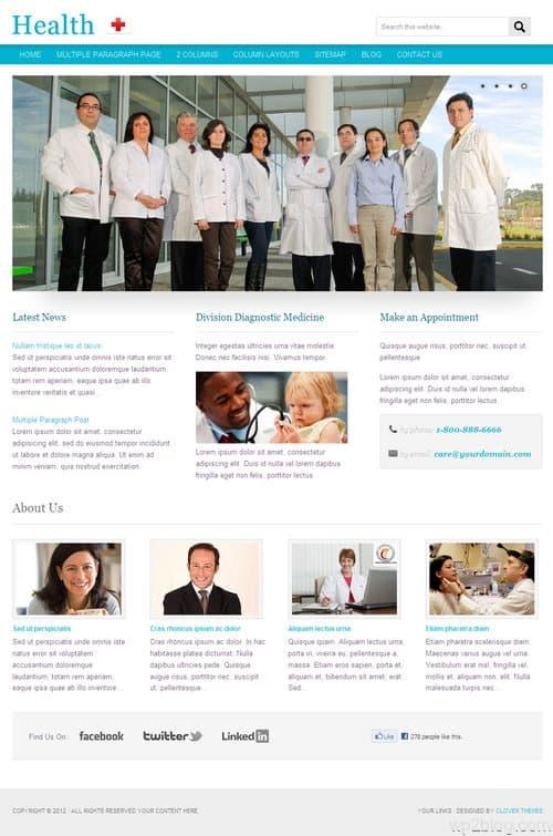 Health WordPress Theme