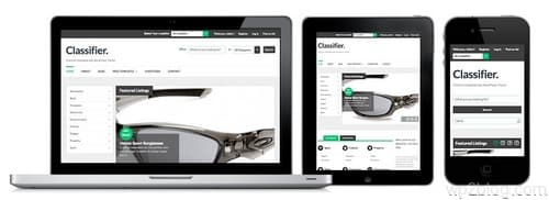 Classified Ads Responsive Design