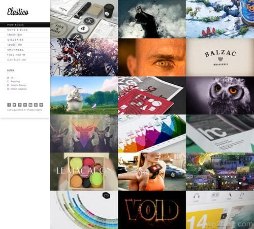 Elastico WordPress Theme