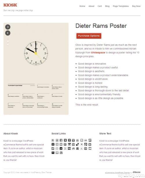 Kiosk WordPress Theme