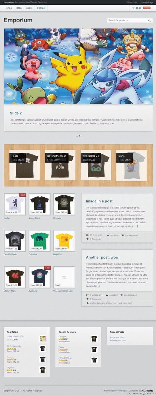 Emporium WordPress Theme