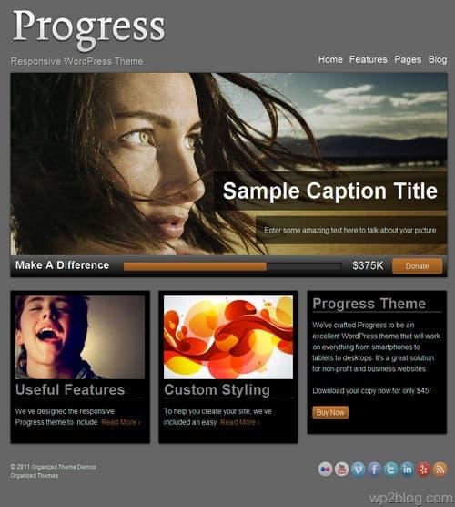 Progress WordPress Theme