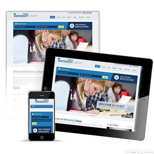 Education Academy Theme Responsive Design