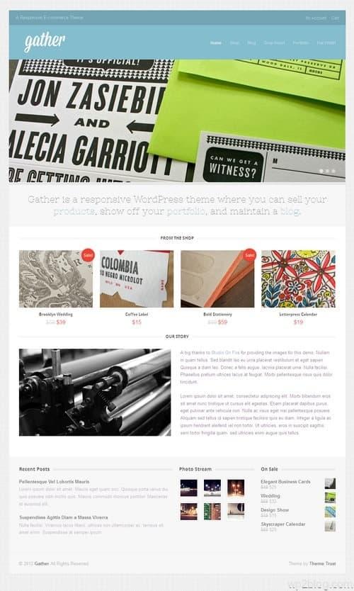 Gather WordPress Theme