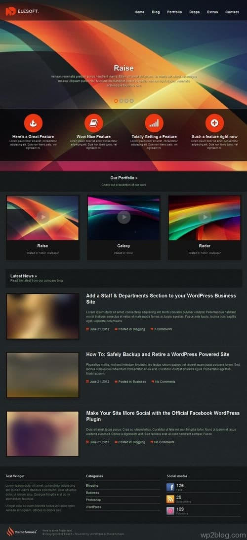 Elesoft WordPress Theme